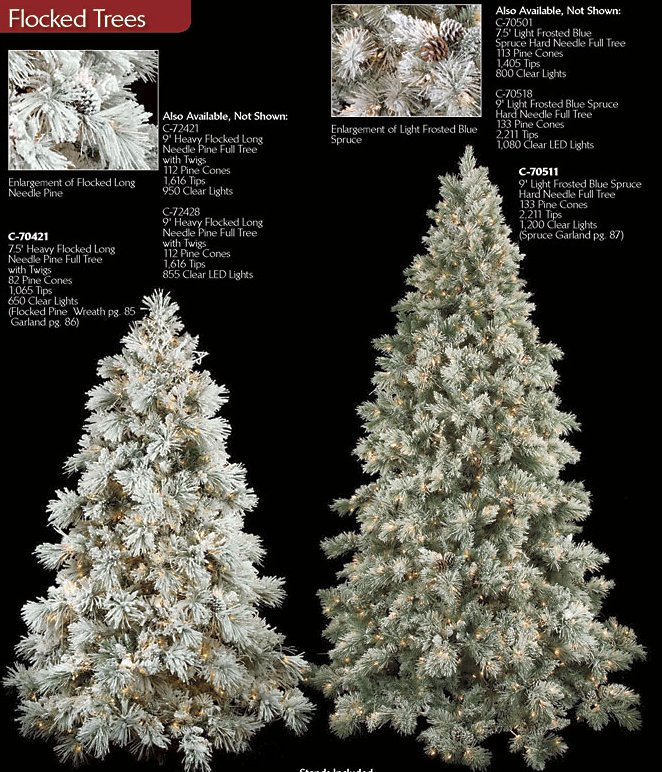 White Flocked Twig Christmas Tree