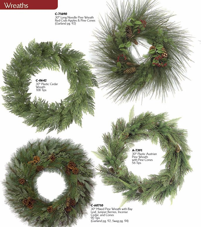 Christmas Wreaths Christmas Trees