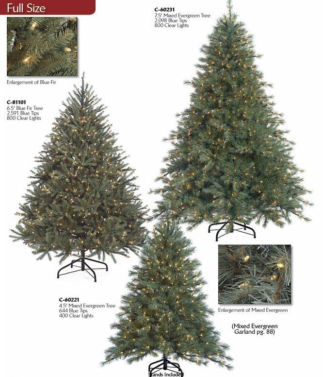 Colorado Blue Spruce Artificial Christmas Tree