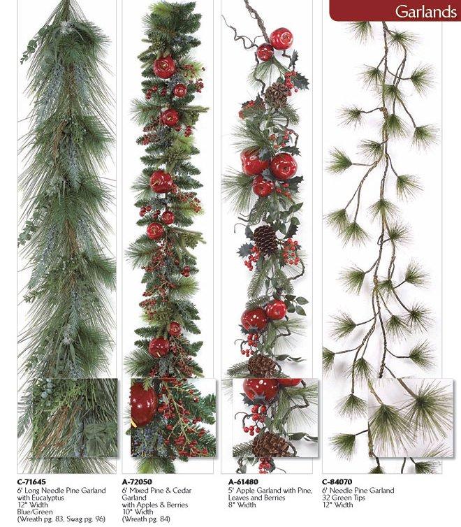 Long Needle Artificial Christmas Trees
