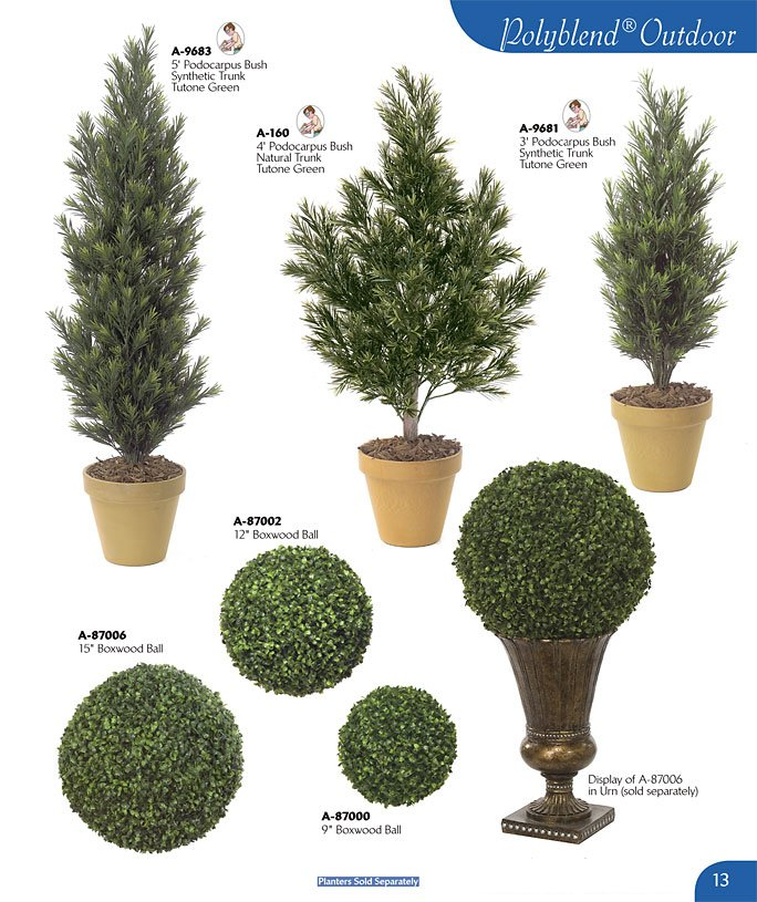 Polyblend Outdoor Plants And Trees