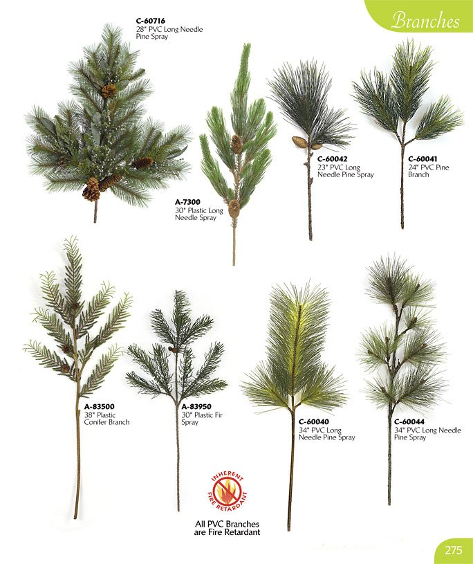 Types Of Fake Christmas Trees