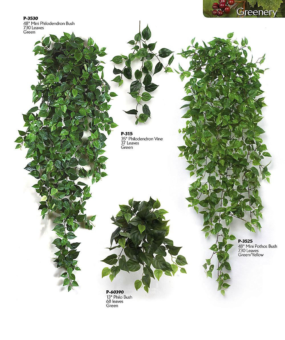 artificial greenery plants