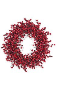 Red Merry Berries Decor