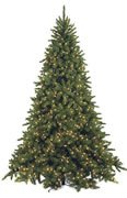 Worry Free ALL LIT Christmas Trees