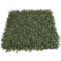 "20"" Plastic Boxwood Mat - Tutone Green Leaves - Outdoor UV Protection"
