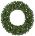 "60"" Monroe Pine Wreath - 720 Green Tips"
