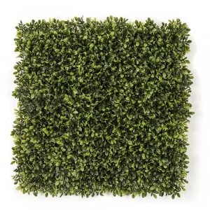 20 Inch X 20 Inch Polyblend Outdoor Wintergreen  Mountain Boxwood Mat