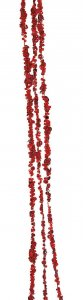 6 Foot Sequined/Beaded Garland Bundles | White, Aqua Or Red