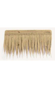 "Outdoor UV Thatch - Natural Color - 19"" Width - 11"" Height"