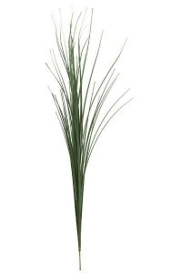"39"" PVC Onion Grass - 56 Blades - Thick Stemmed - Green"