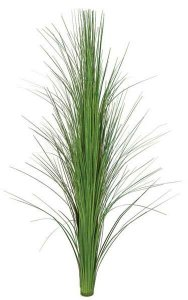 "36"" PVC Onion Grass on Tube - 507 Blades - Light Green"