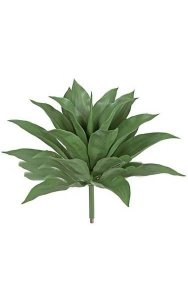 "28.5"" Artificial Agave Plant - 21 Green Leaves - 31"" Width"