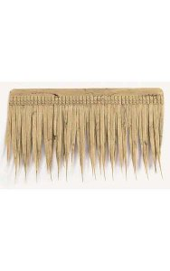 "Thatch - Natural Color - 19"" Width - 11"" Height - FIRE RETARDANT"
