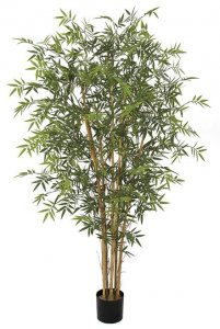 6 FOOT UV RATED BAMBOO PALM TREE