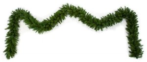 Earthflora's 25 Foot X 18 Inch Mixed Pine Garland With Or Without Lights