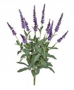 "19"" FireSafe Artificial Lavender Bush"