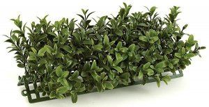 "10"" Plastic Boxwood Edge - 100 Green Leaves - 4.75"" Width - Tutone Green"