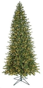 Earthflora's 9 Ft. Or 12 Ft. Slim Spruce Tree With No Lights