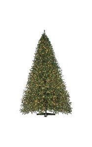 "Deluxe Virginia Pine Christmas Tree - Full Size - 102"" Width - Metal Stand"