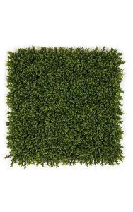 "20"" Boxwood Mat - 3"" Height - New Style Leaf - Tutone Green"