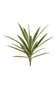 "26"" Plastic Outdoor Yucca Plant - 16 Leaves"