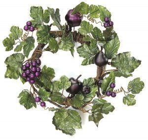A-7321 Earthflora's 15 Inch Grape Vine Wreath