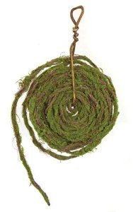 33' Rolled Moss Garland - Bendable - Brown/Green