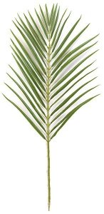 "35"" Areca Palm Branch - 32 Leaves - Green - FIRE RETARDANT"