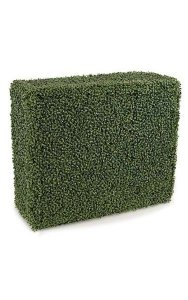 "36"" x 12"" x 30"" Boxwood Hedge - Traditional Leaf - Tutone Green"