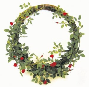 Earthflora's 12 Inch Rose Wreath
