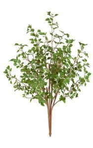 "48"" Birch Bush - 5 Stems - Light Green - 31"" Foliage Height - 30"" Width"