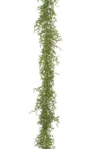 6' Plastic Fern Garland - Green