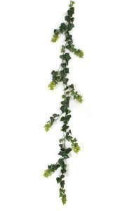 9' English Ivy Garland - Green