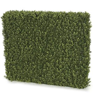 "EF-102140  32"" Tall x 36"" Wide  x 8"" Deep  Plastic UV Rated Outdoor Boxwood Hedge"