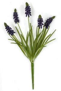 Earthflora's 12.5 Inch Grape Hyacinth Plant Fire Rated