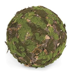 Earthflora's 13 Inch Moss Leaf Ball