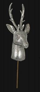 Earthflora's 26 Inch Deco Deer Head