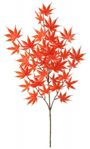 Japanese Plastic  Maple Branch Polyblend Outdoor