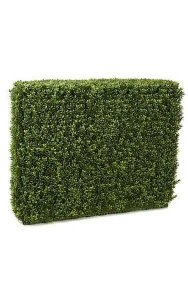 "35"" x 11"" x 30"" Plastic Boxwood Hedge - New Style Leaf - Tutone Green"