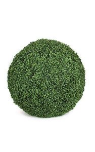 "24"" Plastic Boxwood Ball - Tutone Green"