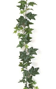 6' Sage Ivy Garland - 82 Leaves - Green