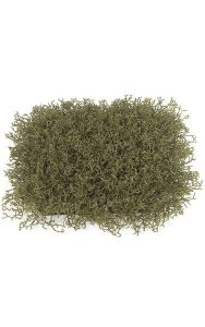 "12"" Plastic Wild Weed Grass Mat - 150 Leaves - Green/Brown"