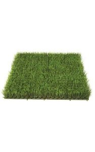 "20"" Plastic Grass Mat - 2"" Height - Green"