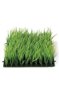"10"" Plastic Grass - 3.5"" Height - Green"