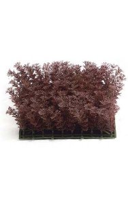 "10"" Plastic Cypress Mat - 3"" Height - Brown"