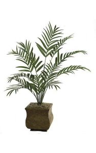 7' Kentia Artificial Palm Tree - 12 Fronds - Green