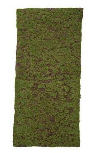 "41"" x 19"" Plastic Moss Sheet - Green/Brown"