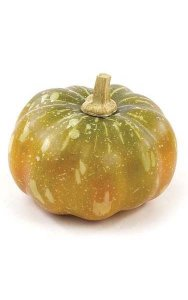 "Foam Gourd - 4"" Height - 4"" Diameter - Yellow/Green"