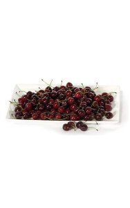 Plastic Cherries - 72 Pieces per Bag - Burgundy